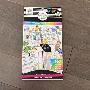 HAPPY PLANNER Radiate Positivity Sticker Book